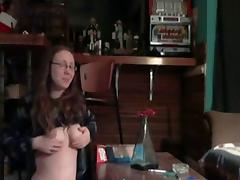 Teen Girl Having Sex With Older Dude On Office Chair