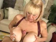 Horny Grandma porn video