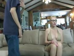 Blonde, Amateur, Big Tits, Blonde, Blowjob, Couple