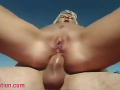Hot Blond Morgan Lynch Takes A Cock And Gets Spunked porn video