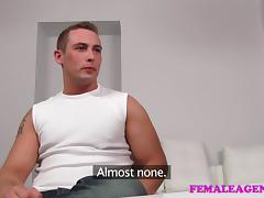 FemaleAgent: Massive cumshot from seasoned veteran porn video