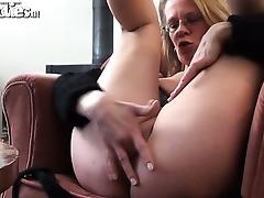 Solo Gilf porn video