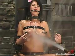 Riley Mason gets tortured and drowned in a hot BDSMm scene