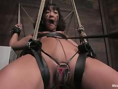 Lesbian Femdom with Toying and Torture for Jandi Lin
