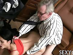 Teacher tasting a chaste cunt porn video