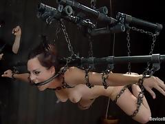 Bryn Blayne gets beaten and fucked with toys in awesome BDSM clip porn video