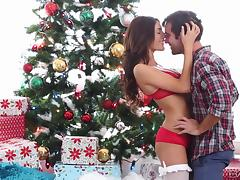 the real x-mas present porn video