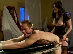 Bobbi Starr Gives Guy Torture and Face Sitting in Pegging Femdom Video porn video