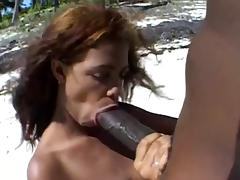 Beach, Beach, Big Cock, Monster Cock, Nipples, Penis
