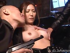 japanese super spy gets into trouble porn video