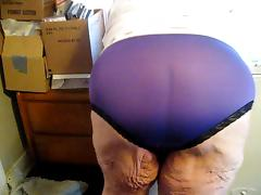 panties ass wigling
