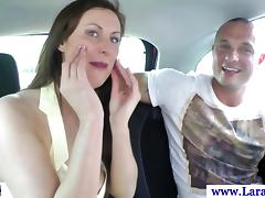Classy British MILF has a deep throat session HD