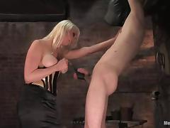 Kade gets tortured and toyed hard by Lorelei Lee