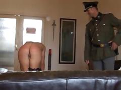 whipped by an officer porn video