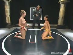 All, Big Tits, Catfight, Lesbian, Rough, Sport