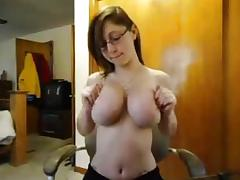 Bookworm, Amateur, Big Tits, Boobs, Cute, Glasses