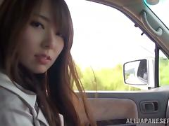 Solo Outdoor Masturbation By One Pretty Asian Chick