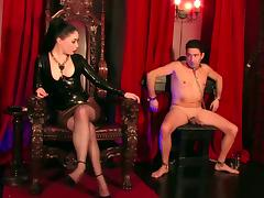 Lady Sophia Black - A Very Strict Mistress porn video