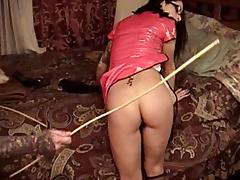 Long-haired gloominess milf gets fucked doggy style in homemade hang on