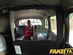 FakeTaxi: Nymphomaniac flight attendant can't receive amply learn of