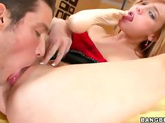 Dani Jensen all round bubbly butt is curious porn video