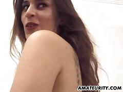 Unprofessional go steady down anal threesome down cum underwood