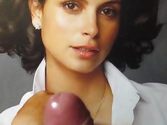 Morena Baccarin Cum Tribute MMBK No. 1