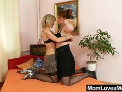 Amateur moms having it away as a last resort other with regard to a dildo