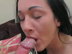 Tattooed Chantelle is affective the brush anal hole