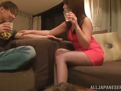 One night stand with a divine Japanese siren Misa Yuki