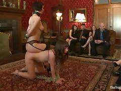 Unusual Seda gets spanked, toyed plus fucked in public