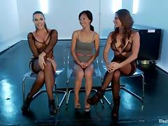 Two Median Girls Fist Fuck Tia Ling with reference to Slavery Video porn video