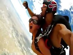 Lecherous skydive