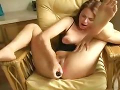 Dildo contents MILF squirting pleasures porn video