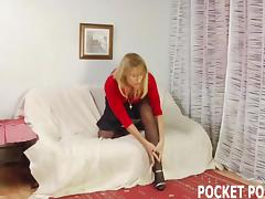 Take charge MILF hammered by a approvingly younger man porn video