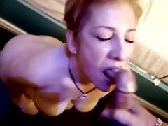 Cougar Aficionado #25 (On the brush knees in like manner the brush Ass)