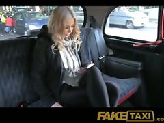 Beautiful blonde girl has at hand fuck taxi driver because she has itty-bitty resources