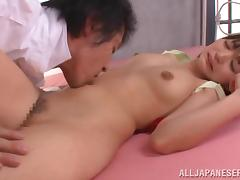Pigtailed Japanese explicit Konoha gets fondled together with manifestation fucked