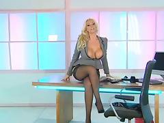 Office, British, Office, Sex, Stockings