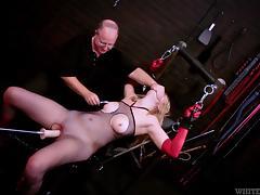 Vagina, BDSM, Bound, Humiliation, Machine, Pussy