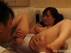 Yuu Kawakami gets her Japanese pussy toyed and fucked remarcably well