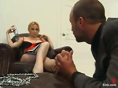 Kinky Pegging and Torturing Action in BDSM Vid with Dominatrix Aiden Starr