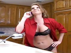 Housewife, Angry, Big Tits, Blowjob, Boobs, Bra