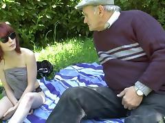 Taboo, 18 19 Teens, Fucking, Old Man, Outdoor, Slut