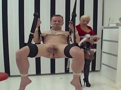 Mistress gives Slave a Christmas Bonus porn video