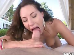 Horny as hell honey with phat bottom makes porn video