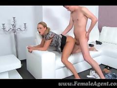 FemaleAgent - Boyfriend can't resist MILF
