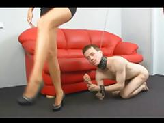 Mistress Cristal and Her Slave BVR porn video
