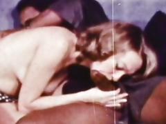 Vintage sex with hardcore black dick