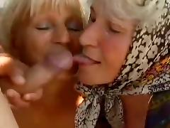 2 Farm Grannies seduced by young man